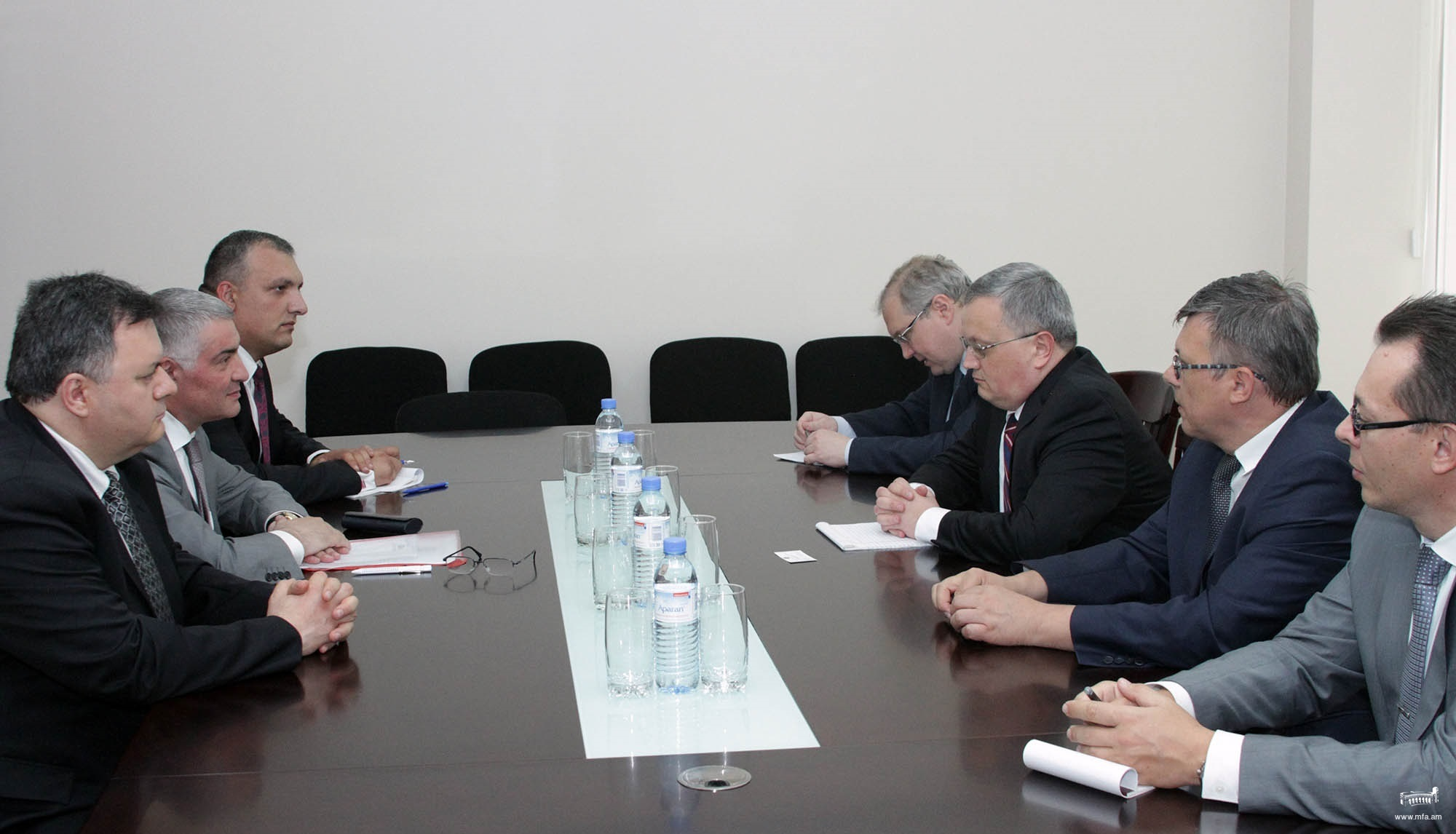 Consultations between the Ministries of Foreign Affairs of
